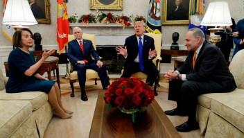 Trump: Cerraría el gobierno por la seguridad en la frontera