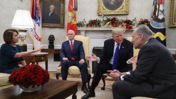 Así fue el enfrentamiento entre Trump y los demócratas
