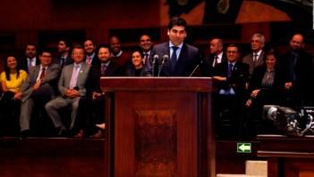 Otto Sonnenholzner, nuevo vicepresidente de Ecuador