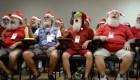 Esta es la divertida escuela de Santas en Brasil