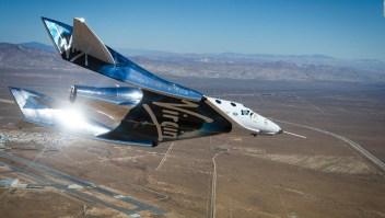 Exitoso vuelo del avión supersónico VSS Unity