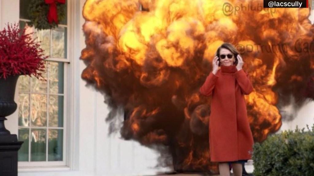 Nancy Pelosi se vuelve viral por unos lentes de sol
