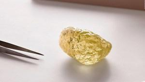 Este es el diamante amarillo más grande de Norteamérica