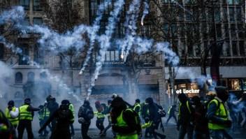 """Los """"chalecos amarillos"""" pierden presencia en Francia"""