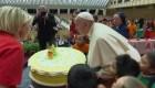Así celebra el papa Francisco su cumpleaños