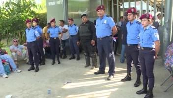 La Policía Nacional de Nicaragua y las acciones contra la oposición