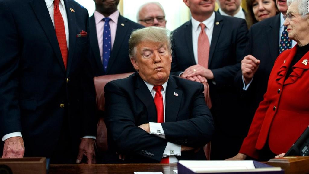 Trump: El muro se va a pagar a sí mismo mensualmente