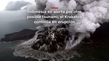 #MinutoCNN: Indonesia en alerta por otro posible tsunami