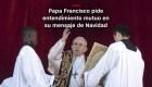 #MinutoCNN: Esto pide el papa en su mensaje de Navidad