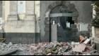 Volcán Etna causa estragos en Sicilia