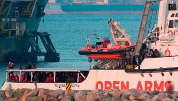 Más 300 inmigrantes rescatados en el Mediterráneo llegan a España