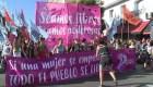 Argentinas, símbolo de la lucha contra la violencia y a favor del aborto en 2018