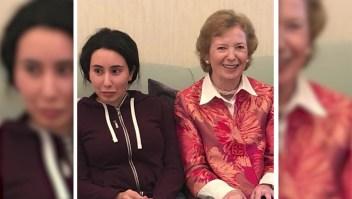 "Mary Robinson es criticada por llamar ""perturbada"" a la princesa Sheikha Latifa de Dubai"