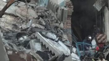 Explosión de gas hace madrugar a residentes en una zona industrial rusa