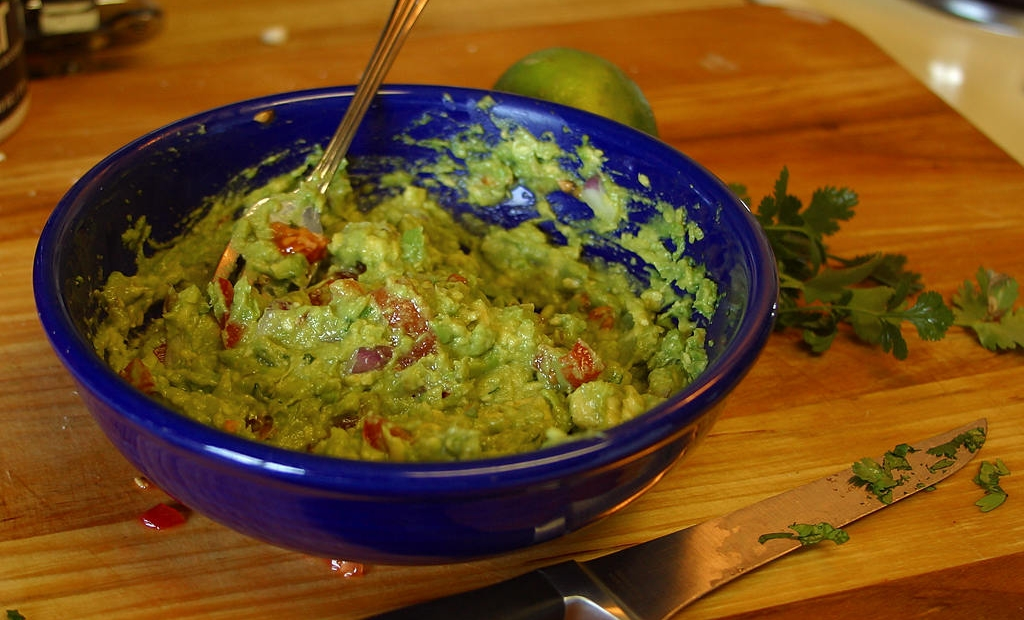 File photos of salsa and guacamole. Photos found at www.pdphoto.org.