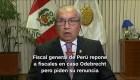 #MinutoCNN: Piden renuncia del fiscal general de Perú Pedro Chávarry