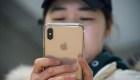 La guerra comercial está afectando la venta de iPhones en China