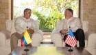 Pompeo y Duque luchan contra la producción de cocaína