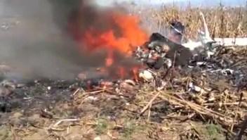 Avanza investigación sobre accidente de helicóptero en Puebla