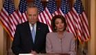 Líderes demócratas responden a Trump y le exigen reabrir el Gobierno