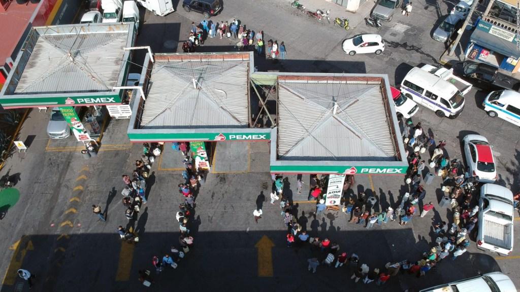 AMLO dice que no hay desabasto de gasolina en México