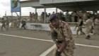 Rebeldes atacan base militar en Yemen con un dron