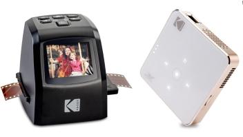 Kodak: escáner de negativos y proyectores de bolsillo