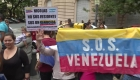 Venezolanos en Argentina repudian segundo mandato de Maduro