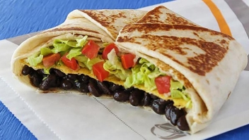 Taco Bell ya vende tacos vegetarianos
