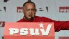 Diosdado Cabello: Cantan fraude porque ganó Maduro
