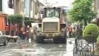 Rutura de desagüe inunda distrito en Lima