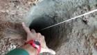 Métodos para rescatar al niño que cayó dentro de un pozo
