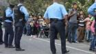 Bombas lacrimógenas para contener caravana de migrantes en Guatemala