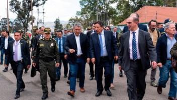 """Duque: """"Colombia unida contra el terrorismo"""""""