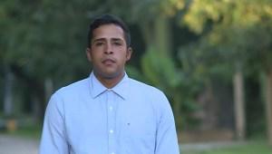 Este hombre caminó desde Venezuela a Argentina