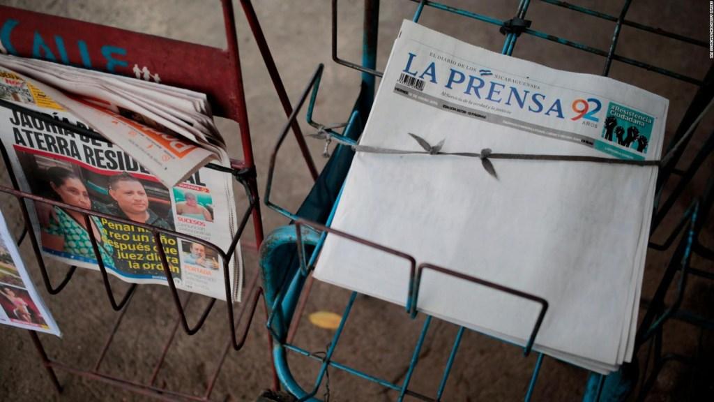 ¿Por qué el diario La Prensa publica su portada en blanco?