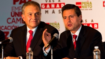 Desconfianza por gestión de Naranjo en gobierno de EPN
