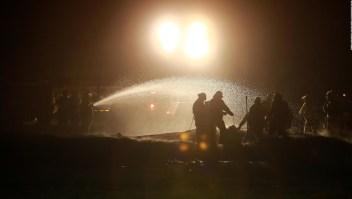 Información actualizada sobre la explosión en un oleoducto en el estado mexicano de Hidalgo