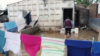 Inundaciones en Argentina: algunas personas no evacuaron