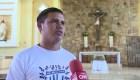 Jóvenes al papa: Queremos un milagro para Nicaragua