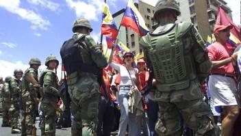 Acordonan un destacamento de la Guardia Nacional en Caracas