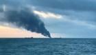 Dos barcos se incendian en el estrecho de Kerch
