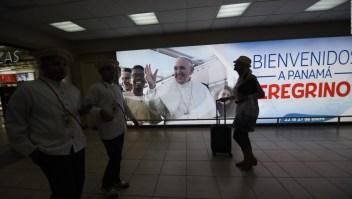 Todo listo para la llegada del papa Francisco a Panamá