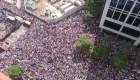 Esta es la concentración de la oposición venezolana