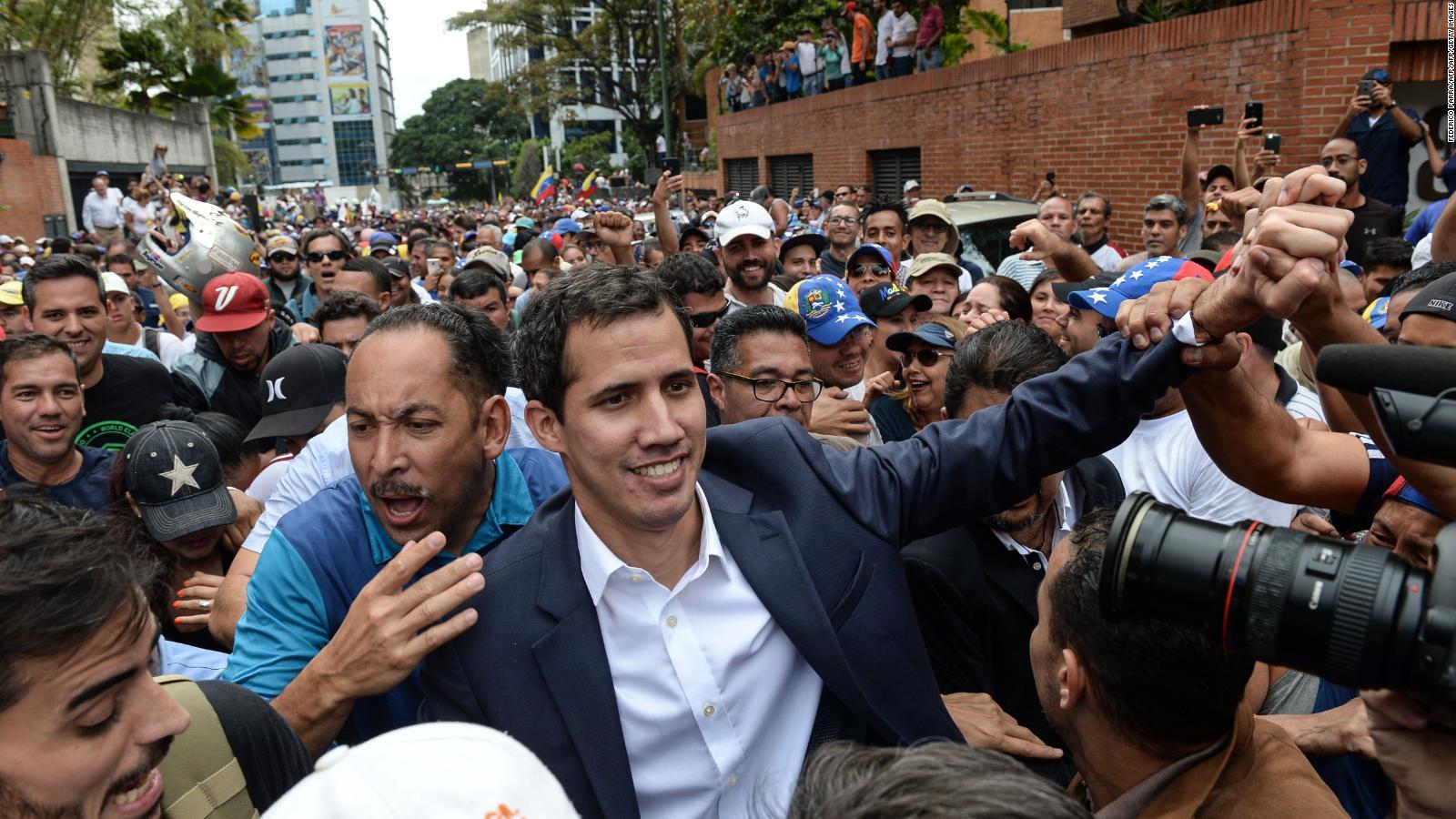 Trump reconoce a Guaidó como presidente interino de Venezuela