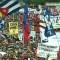 Venezuela: banderas cubanas ondean en marcha del Gobierno