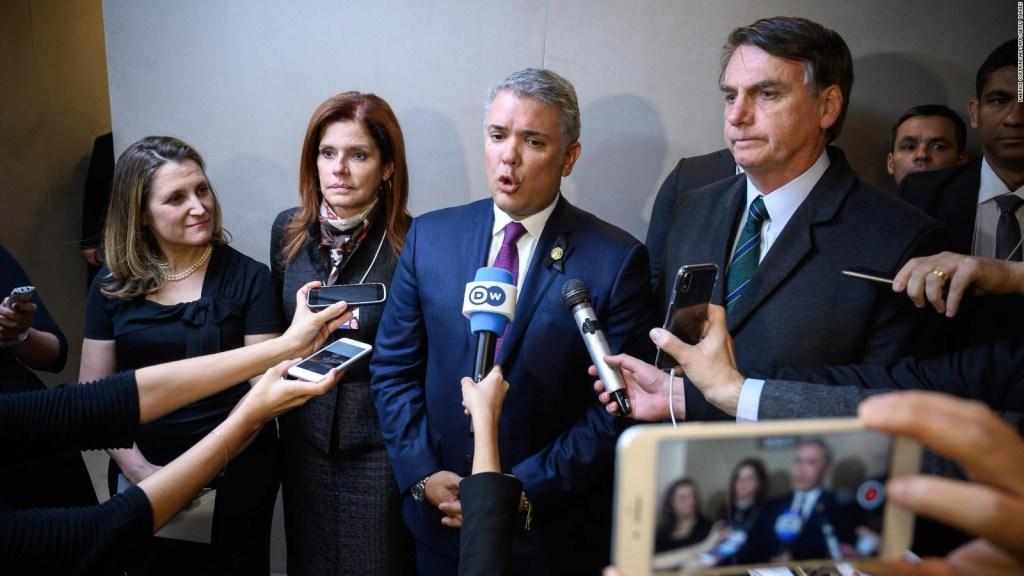 Varios países reconocen a Guaidó como presidente de Venezuela