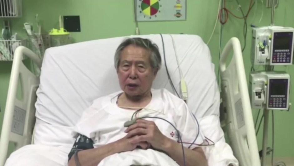 Alberto Fujimori vuelve a la cárcel