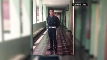 Perdió una pierna por una mina antipersonal en Colombia y ahora corre maratones