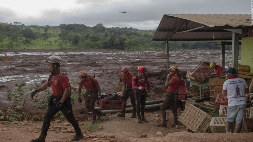 Brasil: incertidumbre en Brumadinho tras ruptura de represa